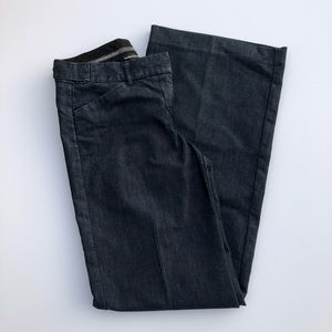 Express Studio Wide Leg Dark Denim Jeans 2